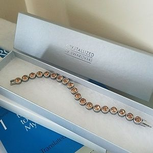 Crystallized by Swarovski Bracelet NWOT